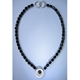 Enso onyx necklace