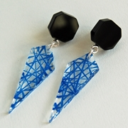blue facets earrings 01