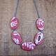 Fern ovals necklace