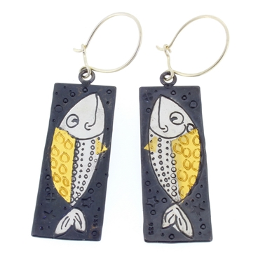 fish earrings 1