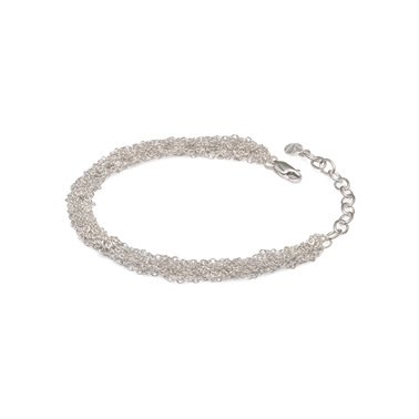 French Knitted Trace Chain Bracelet