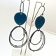 Flotsam Earrings Blue