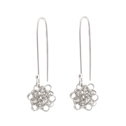 Margarita flower earrings