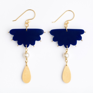 Flying Cloud Earrings