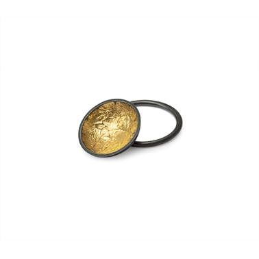 Gold Foil Dome Ring