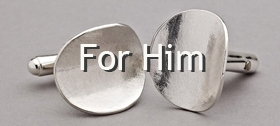 For Him - cufflinks by Latham & Neve