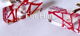 For Him - cufflinks by Sarah Packington