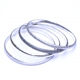 Set of 4 Duotex Bangles oval