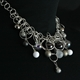 Platinum Frost CZ 16 Bubble Necklace 2