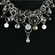 Platinum Frost CZ 16 Bubble Necklace 3