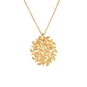Gold-plated Garland Pendant