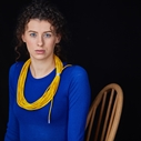 Yellow Coil Necklace