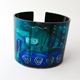 Blue/Turquoise Flexible Cuff