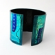 Blue/Turquoise Flexible Cuff Reverse