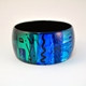 Blue/Turquoise Slim-wide Bangle
