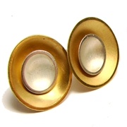 Large Target Studs - Gold Plate