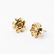 Gold Plated Cluster Studs