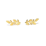 Gold plated Sprig studs