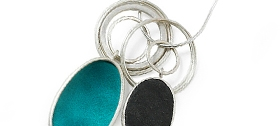 Grace Girvan - Sea Green pendant