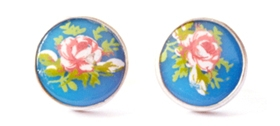 Grainne Morton Vintage cabochon earrings