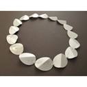 Multi folded oval necklace