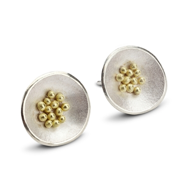 Granule Earrings by Hannah Bedford