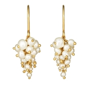 Pearl Grape Earrings