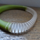 green bangle detail