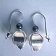 grey pearl beech mast drop earring