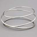 Halo Triple Bangle Chunky