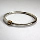 Heavy spiral bangle