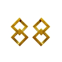 Geom Balance Earrings Vermeil