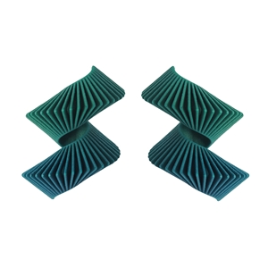 Helix Earrings - Green