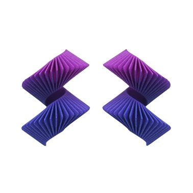 Helix Earrings - Purple