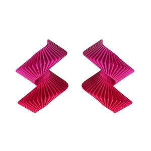 Helix Earrings - Pink