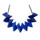 Helix Statement Necklace - Blue