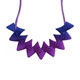Helix Midi Necklace - Purple