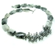 Hex tourmaline quartz necklace