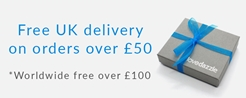 free UK delivery on all orders over £50