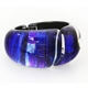 Azure Hinged Bangle
