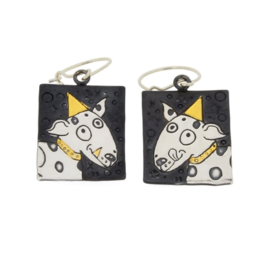 dog earrings 1
