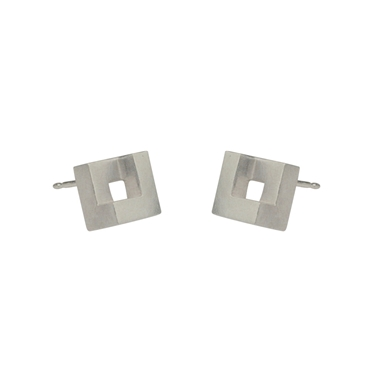 Maxi Geom Stud Earrings