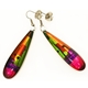 Venezia Long Slim Drop Earrings