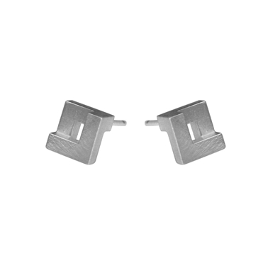 Mini Geom Stud Earrings