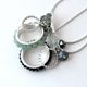 Two Circle of beads necklaces