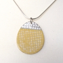 Islands pendant yellow