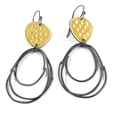 Flotsam earrings yellow