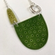 Tidal necklace in greens