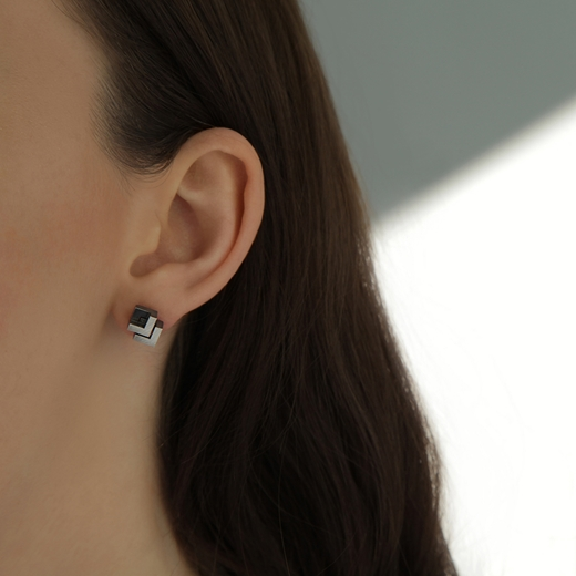 Rhythm Stud Earrings Oxi