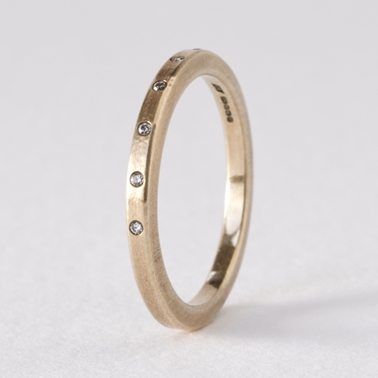 Celestial ring - 9ct yellow gold by Clara Breen
